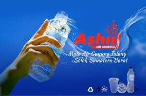 air mineral kemasan Ashiil