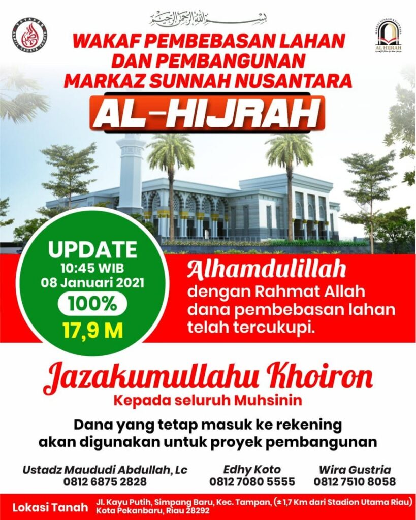 Pembangunan Markaz Al Hijrah Nusantara